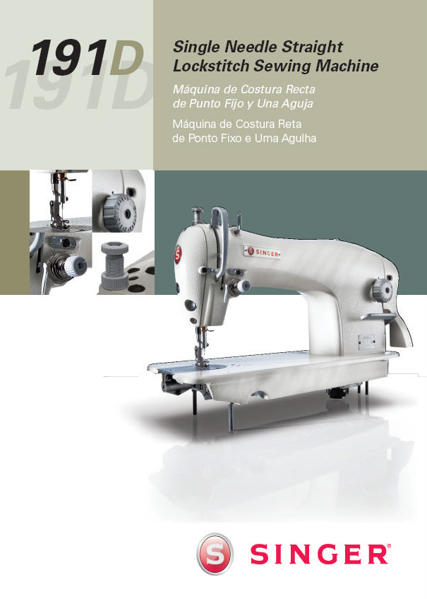 Singer Industrial Model 191D | Ralph's Industrial Sewing